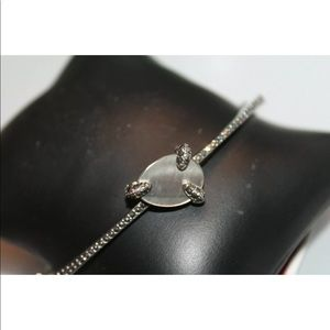 Judith Jack Jewelry - Judith Jack Sterling Silver Marcasite Bracelet